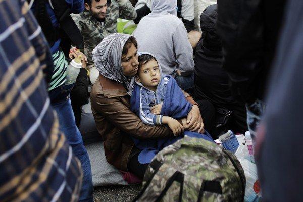 Slovinsko za posledné dva dni zaregistrovalo asi 1500 utečencov.