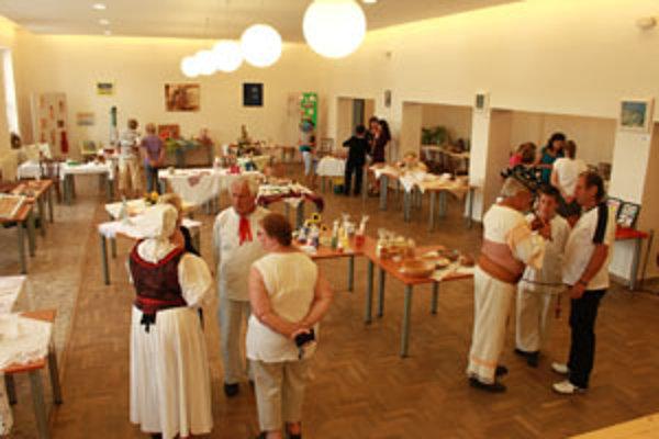 V kultúrnom dome sa konala výstava ľudových remesiel.