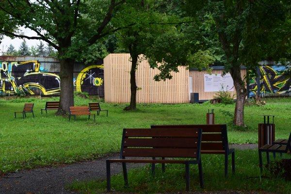 Nová oddychová kultúrna zóna v hornej časti amfiteátra.