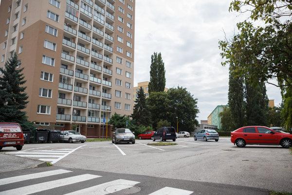 """Na """"zeleň"""" nesiahli. Riešením parkovania z dielne EEI prišli na Slovenskej jednoty 36 o 25 miest. O jedno navyše ich pripravil minitrávniček, ktorý tam zostal na okrasu."""