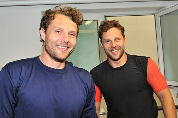 Richard (vľavo) a Róbert Hunovci chcú Liptovskému Mikulášu v Tipsport lige pomôcť.