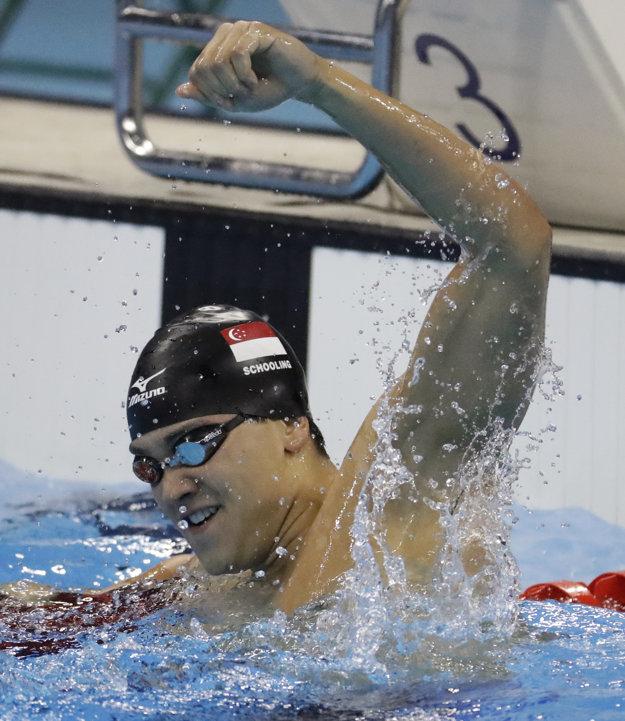 Nečakaný víťaz. O posledné zlato obral Michaela Phelpsa Singapúrčan Schooling.