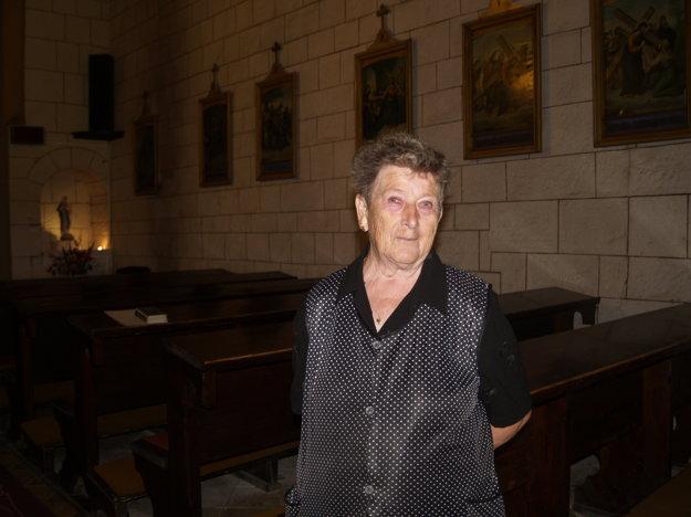 Kostolníčka Anna Fačková sa o vzácnu sakrálnu stavbu stará už vyše štyridsať rokov