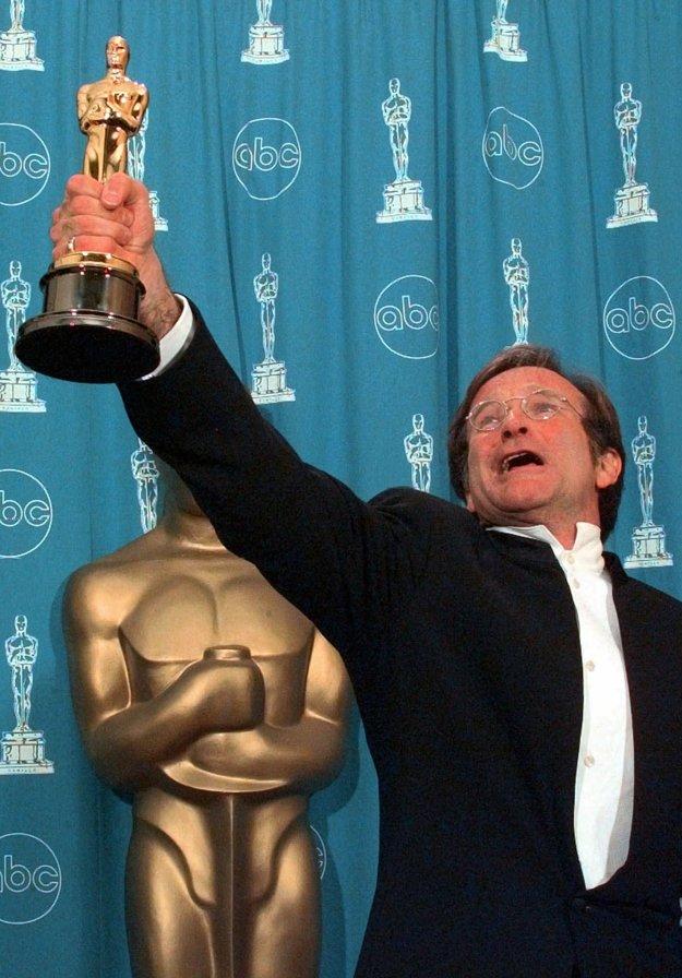 S Oscarom v roku 1998 za postavu profesora vo filme DObrý Will Hunting