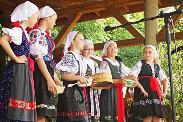 Deti z Javorinky.