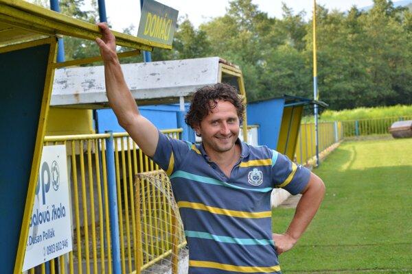 Hrajúci tréner. Branislav Kuzma.