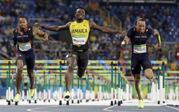 Vo finiši už si Jamajčan víťazstvo nenechal vziať.
