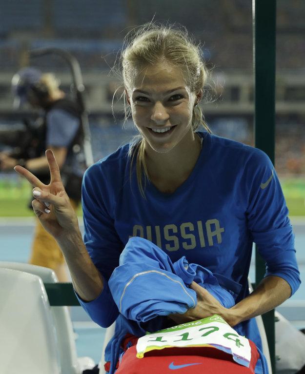 Daria Klišinová skončila na olympijských hrách v Riu deviata.