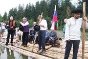 Akciou si Nižná pripomína časy predkov, keď po rieke splavovali drevo v pltiach až do Maďarska.