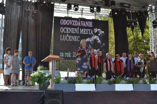 Ocenenia odovzdávala primátorka Alexandra Pivková.