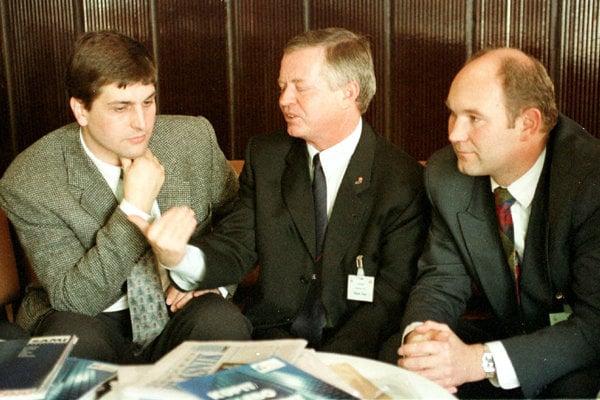 Bývalý moderátor Markízy Braňo Ondruš časom vstúpil do SDĽ.
