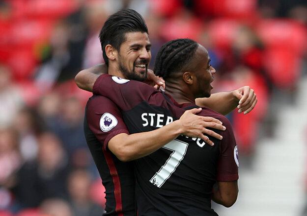 Celte Vigo citeľne chýbal Nolito.(vľavo) Ten už sa však z gólov teší v Anglicku.