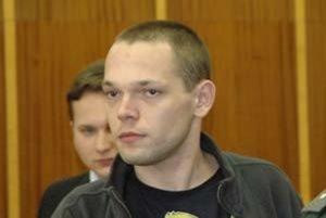 Peter Nebiesky (Ďurdík) počas súdu v roku 2008.