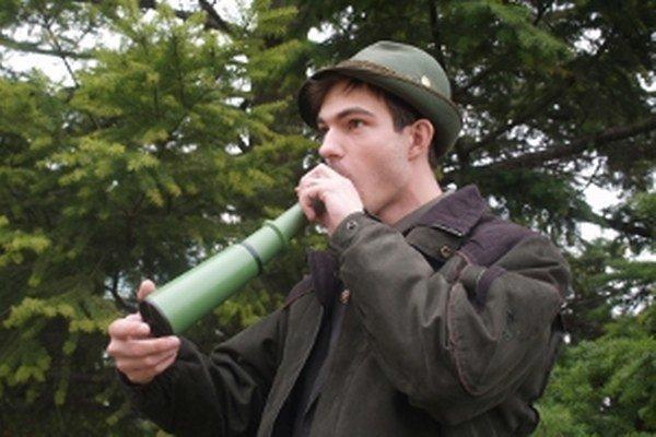Ján Šimurda – medzinárodne úspešný vábič zveri zo Šaštína Stráží.