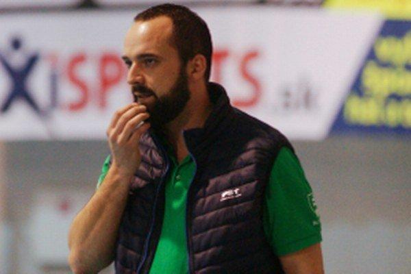 Tréner Stupavy Miro Fukač.