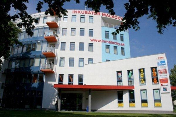 Podnikateľský inkubátor v Malackách, ktorého priestory bude využívať aj Mestský úrad.