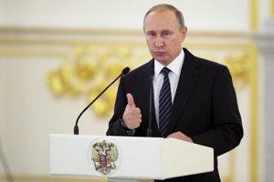 Strana Jednotné Rusko, v ktorej je i Vladimír Putin, voľby zrejme vyhrá.