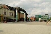 Divadelné námestie. Aj ono je jedným z centier Scénickej žatvy.