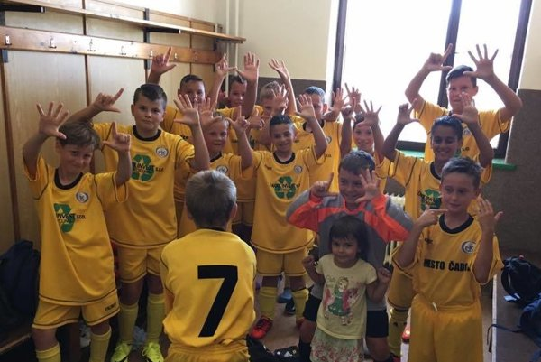 Deti čaká na futbale skvelý kolektív.
