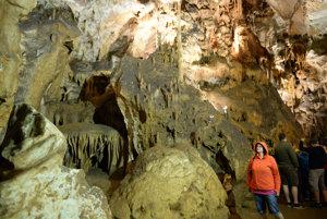 V Jasovskej jaskyni.