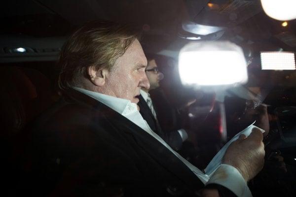 Gérard Depardieu vo filme Welcome to New York.