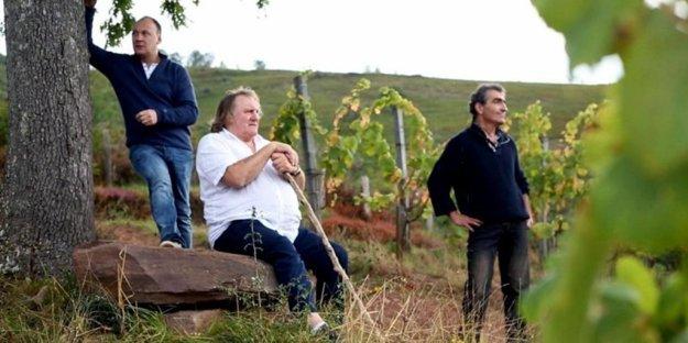 Depardieu v gastronomickom cestopise na Arte.