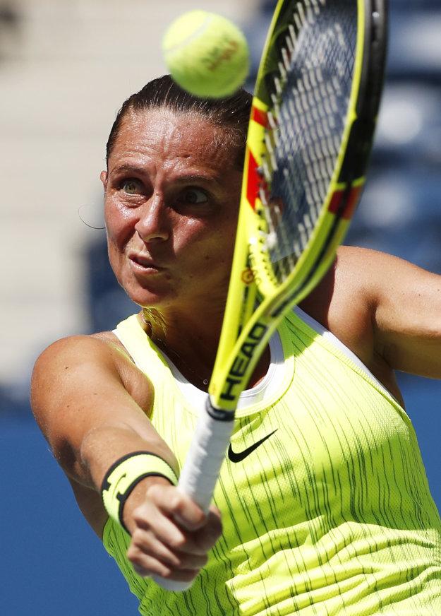 Roberta Vinciová potvrdila v prvom kole US Open úlohu favoritky.