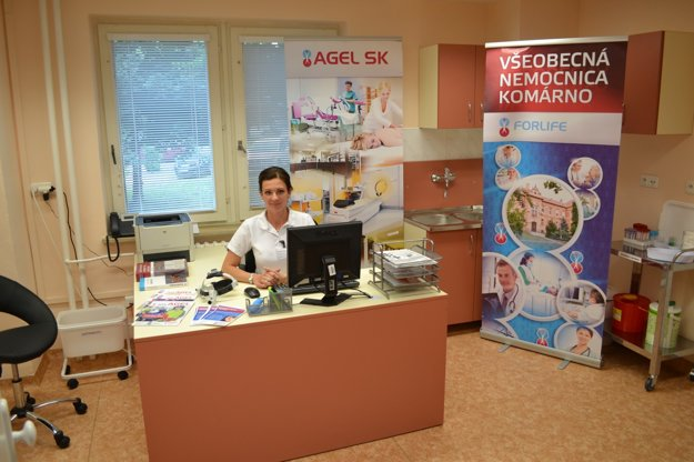 MUDr. Iveta Csekesová - vedúca lekárka komárňanského Centra pre poruchy rovnováhy
