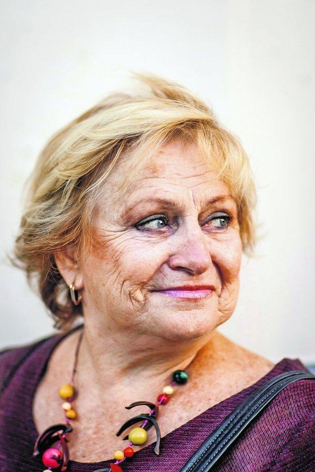 Věra Čáslavská v roku 2013 v Bratislave.