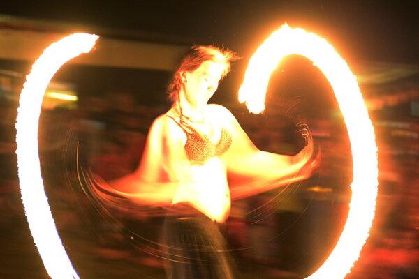 V sobotu večer bude možné vidieť v centre Bojníc aj ohňovú šou.