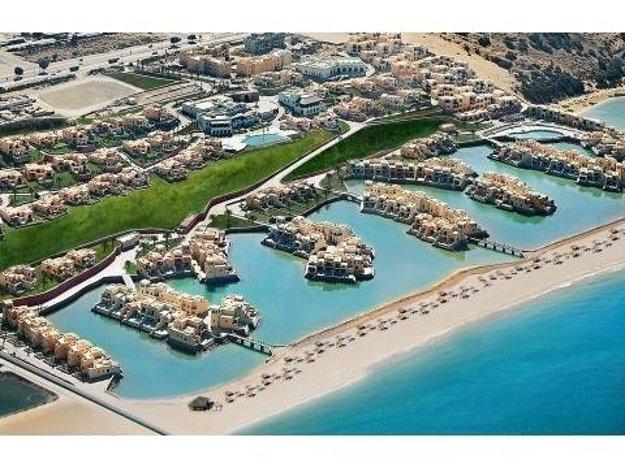Ras Al Khaimah, pobrežie.