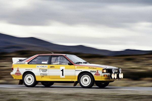 Audi quattro A2, Group B, modelový rok  1983