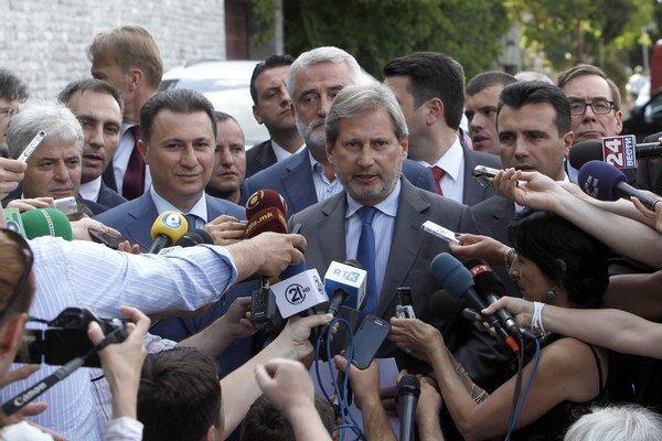 Macedónsko v súčasnosti čelí najväčšej politickej kríze od roku 2001, keď sa ocitlo na pokraji občianskej vojny.