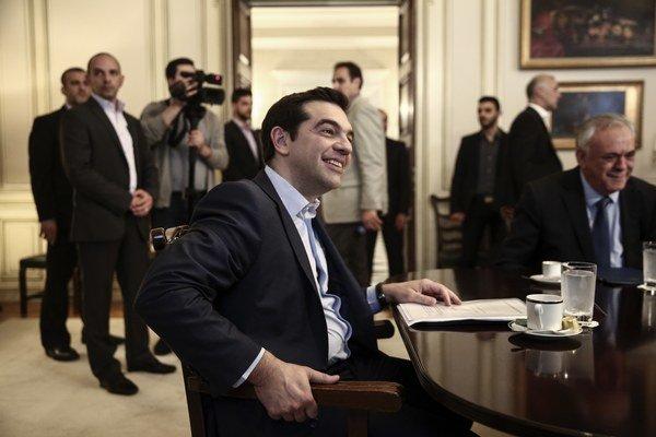 Nie je to chyba Grécka, ale veriteľov, opakuje grécky premiér Alexis Tsipras.