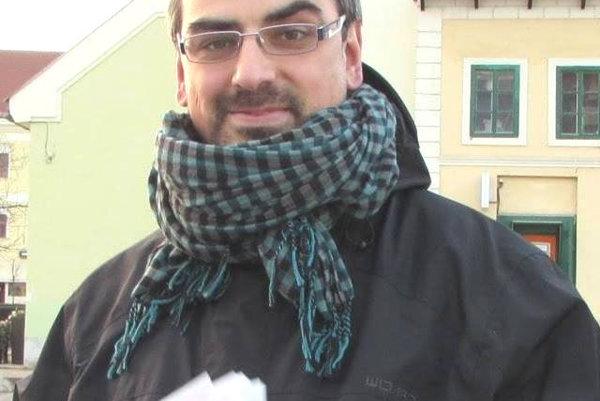 Matúš Bischof, učiteľ amiestny poslanec.