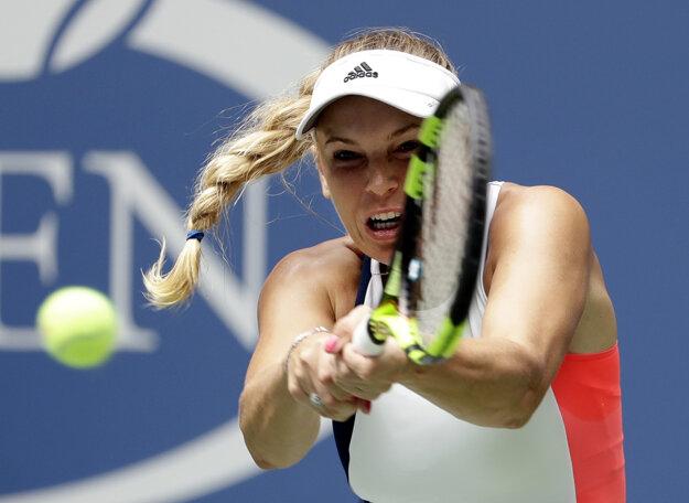 Wozniacká postúpila na US Open už medzi šestnásť najlepších.
