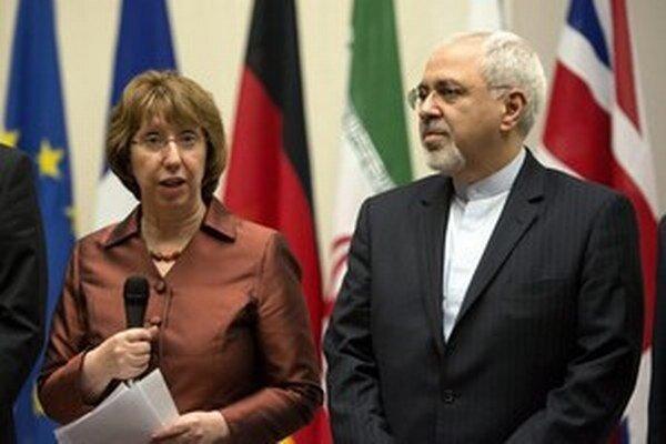 Šéf iránskej diplomacie Javad Zarif.