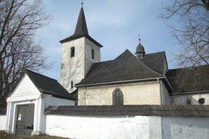 Kostol Všetkých svätých Ludrová - Kút.