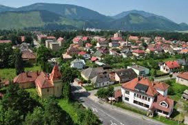 Pohľad na mesto zo Skalky.