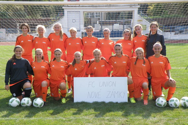 Juniorky FC Union sú budúcnosťou ženského futbalu v Nových Zámkoch.
