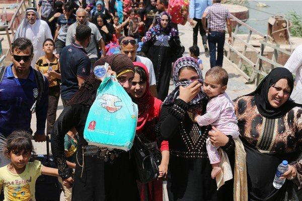 Do oblasti Bagadu už prišli tisíce utečencov z mesta Ramádí.