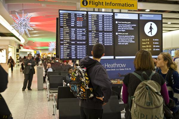 Londýnske letisko Heathrow.
