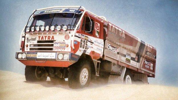 Takto vyzerala objavená Tatra na Rely Dakar v roku 1986
