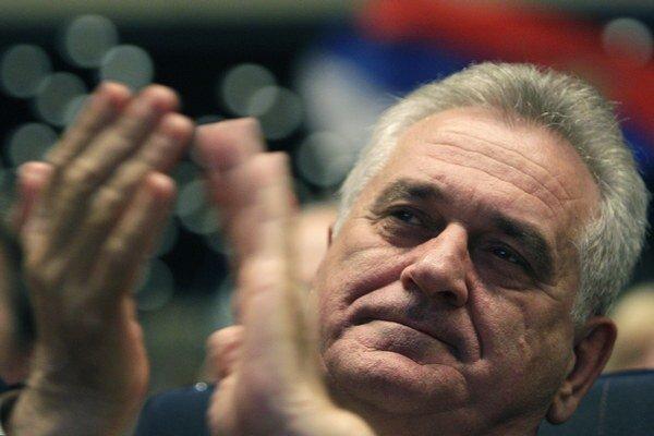 Srbský prezident Tomislav Nikolič.