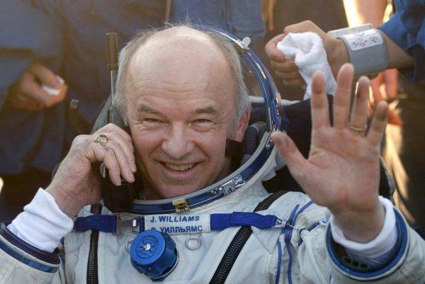 Americký astronaut Jeff Williams.