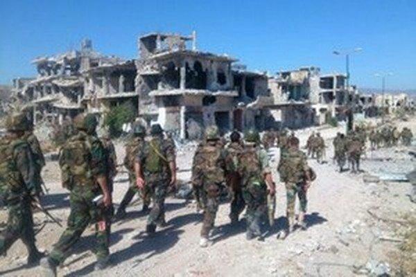 Sýrske vládne jednotky.
