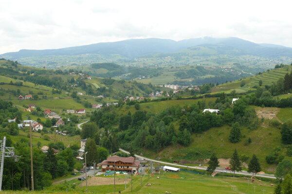 Pohľad z Košútky.