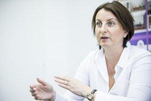 Realitná maklérka Zuzana Kovárová.