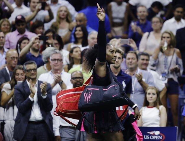 Serena Williamsová po prehre s Plíškovou príde o post svetovej jednotky.