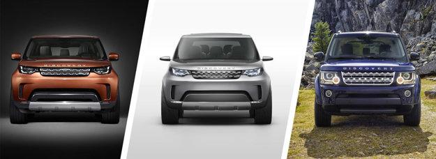 Nové Discovery čerpá inšpiráciu z oboch konceptov Vision Concept Discovery a staršieho modelu.